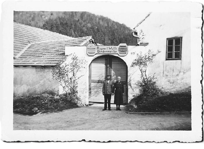 Rupert und Anna Walli in Innerschildgraben anno 1934