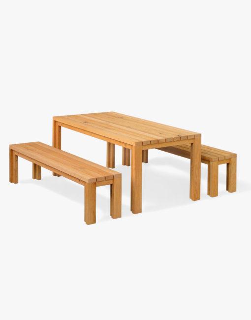 Moderne Design-Gartenmöbel in massivem Holz aus Österreich von WALLI Gartenmöbel