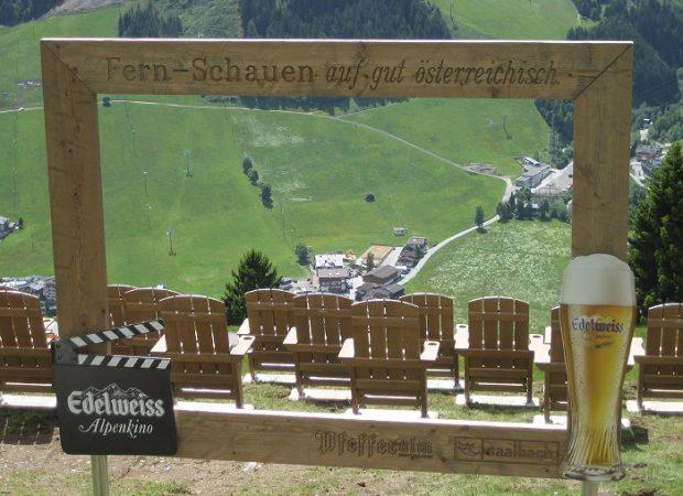 Edelweiss Alpenkino: Gartenmöbel Unikate aus Holz exklusiv nach Architekten und Design-Entwurf