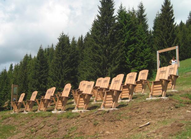 Edelweiss Alpenkino Bestuhlung