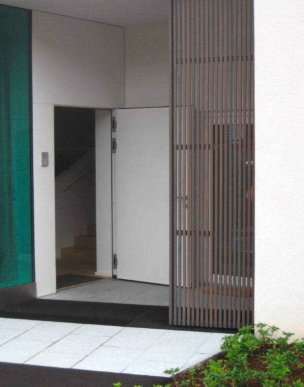 Holzfassade als Gestaltungselement