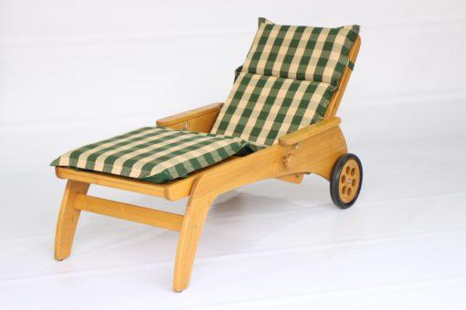 Rollliege aus Massivholz