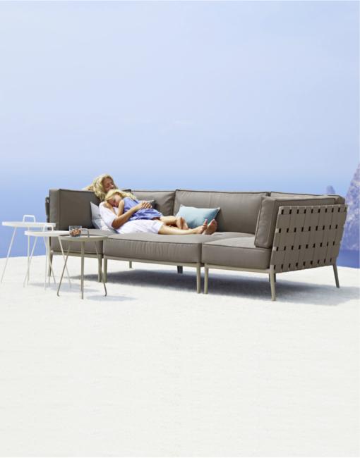Modulares Outdoor Sofa Conic | WALLI Ihr Cane-line Premium Händler in Wien und Umgebung