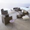 Loungesessel und Sofas der Gartenmöbel Serie Diamond von Cane-line