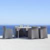 Tolles Design: Essstuhl Diamond aus Aluminium mit Textilene von Cane-line bei WALLI Gartenmöbel