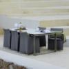 Zeitlos schöner Dining Chair Diamond in Grau von Cane-line bei WALLI Gartenmöbel