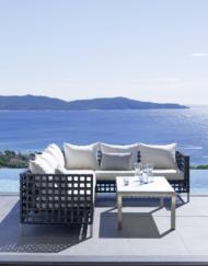 Modul-sofa Flow von Cane-line bei WALLI Wohnraum Garten online kaufen