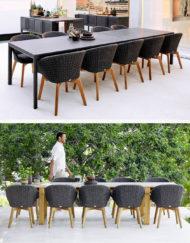 Peacock Sessel Soft Rope –wunderschöner Ess-Stuhl für die Terrasse - jetzt bei WALLI Wohnraum Garten