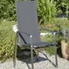 Gartenstuhl / Hochlehner Tinto aus Edelstahl | WALLI Gartenmöbel