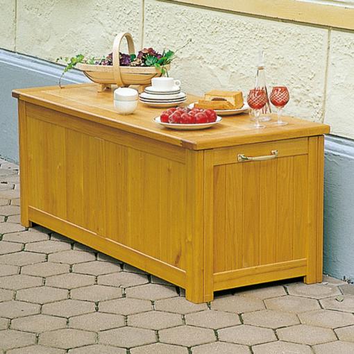 Gartentruhe aus Holz –Akazie / Robine oder Eiche massiv