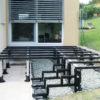 Unterkonstruktion für Terrassendecks