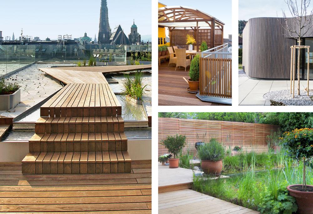 Unsere Referenzen: Vielfältige Lösungen für Terrasse, Garten und Balkon