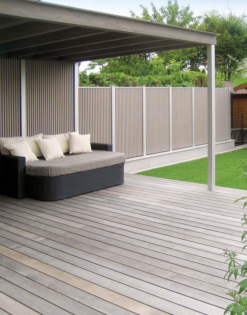 Terrassendach Mit Sichtschutz Walli Wohnraum Garten