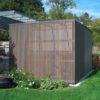 Müllhaus / Einhausung in Holz: exklusives Design für moderne Architektur vom Gartentischler