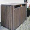Mülltonnenbox, Mülltonnenhaus nach Maß in Holz vom Gartentischler in Niederösterreich, Wien, Burgenland