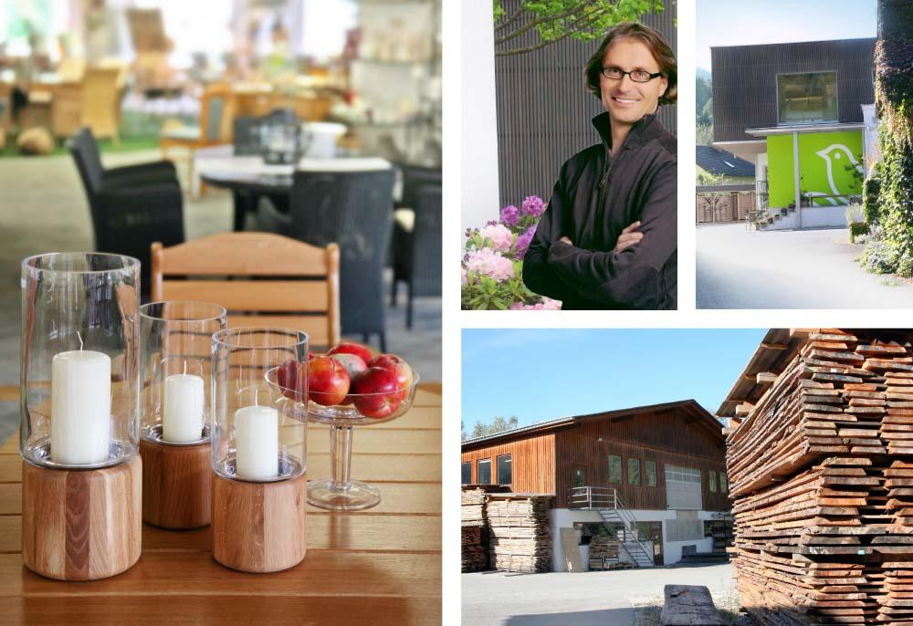 Interessante Werkstatt-Führungen und frühlingshaft dekorierte Schauräume mit den neuesten Gartenmöbel-Trends bei WALLI – Ihre Gartentischlerei für Wien, Niederösterreich und Burgenland