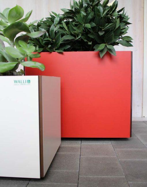 Moderne Pflanzbehälter / Blumenkübel aus HPL in exklusivem Design