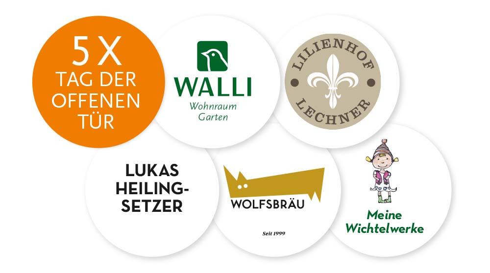Tag der offenen Tür in Thernberg bei WALLI, Lilienhof, Heilingsetzer, Wolfsbräu und Meine Wichtelwerke