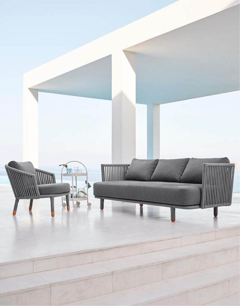 Moments Möbelserie von Cane-line | WALLI Gartenmöbel Online Shop