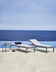Relax – entspannen Sie in der stapelbaren Design-Sonnenliege von Cane-line