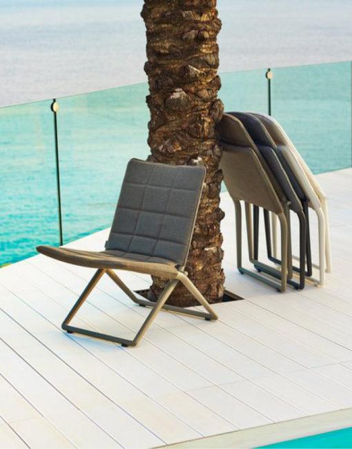 Traveller - klappbarer Lounge Sessel für Draussen