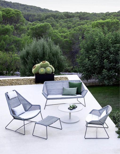 Breeze Lounge Möbel für die Terrasse von Cane-line bei WALLI