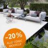 Sonderpreis: Conic Lounge Sofa für die Terrasse von Cane-line