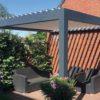 Lamellendach aus Aluminium Lamelloline –modernes Design, präzise Montage –WALLI Wohnraum Garten