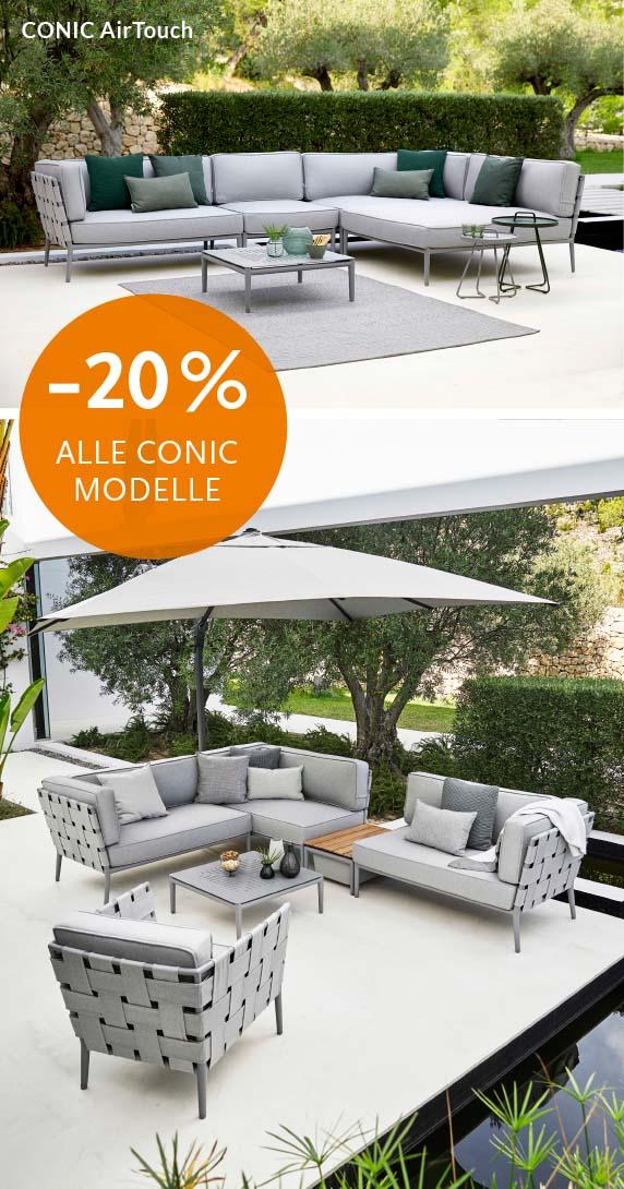 Conic Lounge Sofa Aktion auf alle Modelle und Farben