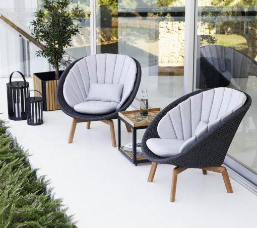 Peacock 2-Sitzer Sofa Soft Rope