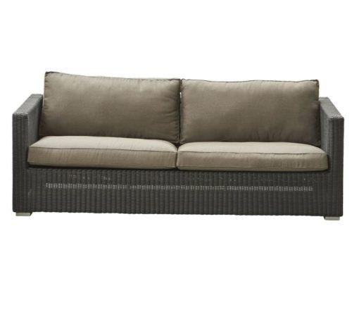 Chester 3-Sitzer Sofa Geflecht
