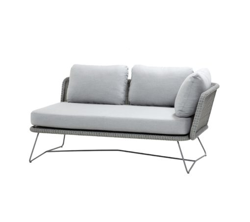 Horizon-2-Sitzer-Sofa-links-Geflecht