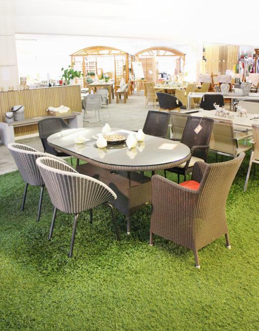Cane-line Gartenstühle und Tische –große Ausstellung